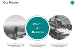 Our Mission Vision L319 Ppt Powerpoint Presentation Styles Grid