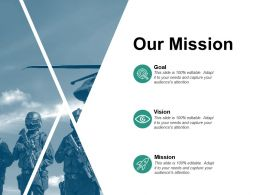 Our Mission Vision L364 Ppt Powerpoint Presentation Inspiration Example