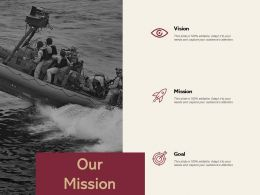 Our Mission Vision L426 Ppt Powerpoint Presentation Ideas Inspiration