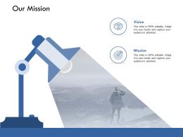 Our Mission Vision Management K222 Ppt Powerpoint Presentation Gallery Icons