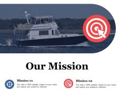 Our Mission Vision Management Value Ppt File Diagrams