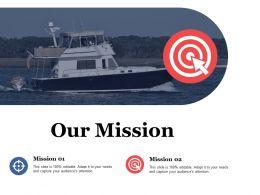 Our Mission Vision Management Value Ppt File Diagrams