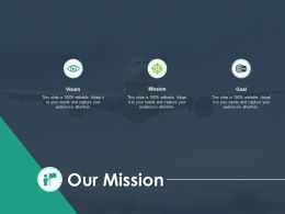 Our Mission Vision Plan H43 Ppt Powerpoint Presentation Pictures Graphics