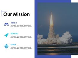 Our Mission Vision Ppt Inspiration Example Introduction