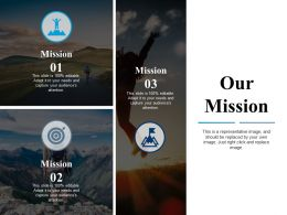 Our Mission Vision Ppt Powerpoint Presentation File Files