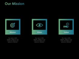 Our Mission Vision Ppt Powerpoint Presentation File Inspiration