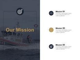 Our Mission Vision Ppt Powerpoint Presentation File Portfolio