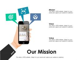 Our Mission Vision Ppt Powerpoint Presentation Pictures Layout