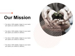 Our Mission Vision Ppt Powerpoint Presentation Summary Skills