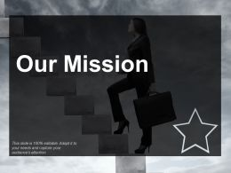 Our Mission Vision Ppt Professional Design Inspiration