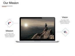 Our Mission Vision Strategy E420 Ppt Powerpoint Presentation Show Pictures