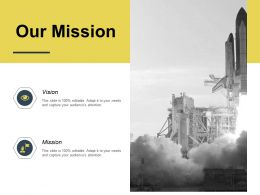 Our Mission Vision Success K184 Ppt Powerpoint Presentation Slides