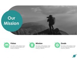 Our Mission Vision Target F8 Ppt Powerpoint Presentation File Inspiration