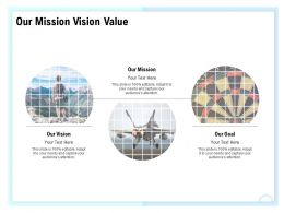 Our Mission Vision Value Adapt M1579 Ppt Powerpoint Presentation Gallery Icons