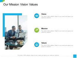 Our Mission Vision Values M2241 Ppt Powerpoint Presentation Icon Slide