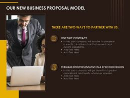 Our New Business Proposal Model Ppt Powerpoint Images