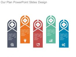 Our Plan Powerpoint Slides Design