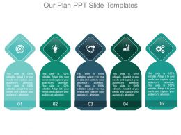 Our Plan Ppt Slide Templates