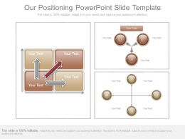 Our Positioning Powerpoint Slide Template