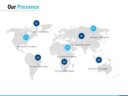 Our Presence Location Ppt Powerpoint Presentation Inspiration Mockup