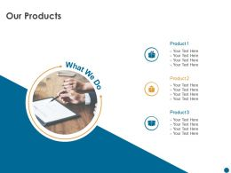 Our Products M504 Ppt Powerpoint Presentation Inspiration Introduction