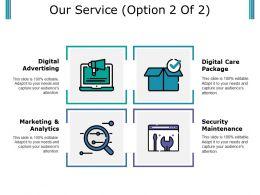 Our Service Ppt Portfolio Design Inspiration