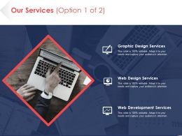 Our Services Option Ppt Pictures Background Designs