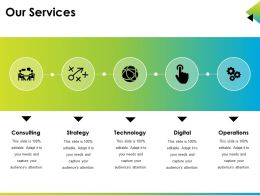 Our Services Powerpoint Slide Design Ideas