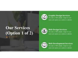 Our Services Powerpoint Slide Introduction