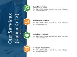 Our Services Powerpoint Slide Presentation Examples