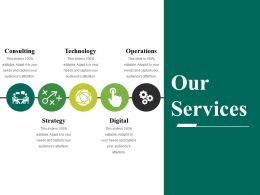 Our Services Powerpoint Slides