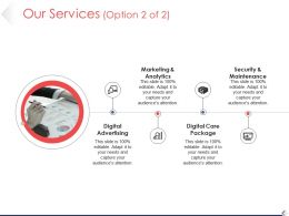 Our Services Ppt Diagrams Template 1