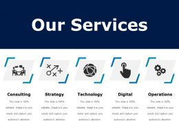 Our Services Ppt Examples Professional