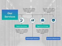 Our Services Ppt Model Background Images