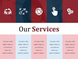 Our Services Ppt Sample Presentations