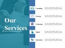 Our Services Ppt Show