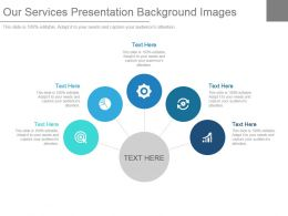 Our Services Presentation Background Images