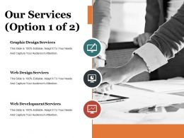 Our Services Presentation Portfolio