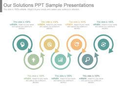 Our Solutions Ppt Sample Presentations