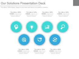 Our Solutions Presentation Deck