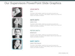 Our Supervisors Powerpoint Slide Graphics