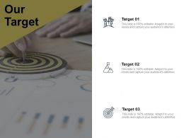 Our Target Achievement Success G3 Ppt Powerpoint Presentation Layouts Styles