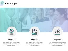 Our Target And Arrows F703 Ppt Powerpoint Presentation Styles Shapes