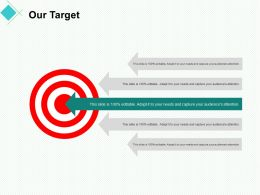 Our Target Arrow A352 Ppt Powerpoint Presentation Summary Clipart