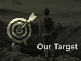 Our Target Arrow Competition Ppt Professional Design Inspiration