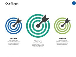 Our Target Arrow Competition Ppt Professional Example Introduction