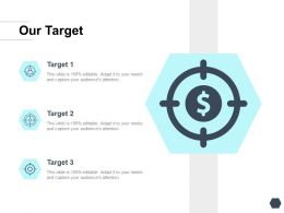 Our Target Arrow I378 Ppt Powerpoint Presentation Example