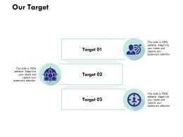 Our Target Arrow L183 Ppt Powerpoint Presentation Model Guide