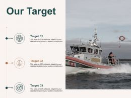 Our Target Arrow Management C489 Ppt Powerpoint Presentation Show Introduction