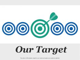 Our Target Arrow Ppt Inspiration Infographic Template